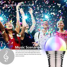 E27/E26 LED Bulb Light RGB Bluetooth Wifi Control Smart Music Audio Speaker Lamp