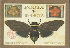 POSTA INSECTA - POSTCARD BOOK By Helen Buttfield