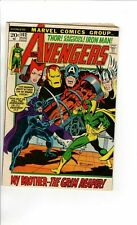 Avengers #102, FN 6.0, Sentinels Return; Vision, Scarlet Witch, Iron Man, Thor