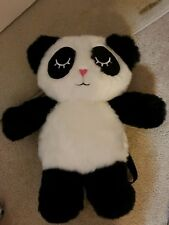 Betsey Johnson Luv Betsey Panda Backpack LVFLUF furry fluffy