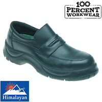Slip On Engineers Office Warehouse HGV Drivers Site Work Safety Shoes Steel Toe