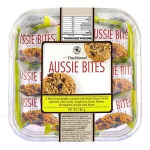Universal Bakery Organic Aussie Bites Oats Dried Apricots honey seeds Pack 780g
