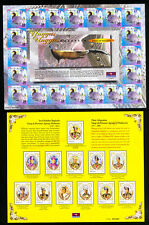 Malaysia Mint Imperforate Full Stamp Sheets