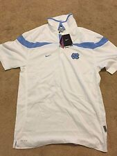 **BRAND NEW W/ TAGS** Nike White UNC Tar Heels Golf Polo- Size Small