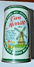 Vintage Van Merritt Flat Top Beer Can Minty