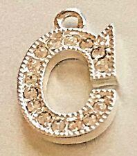 C Letter Rhinestone Crystal Initial Charm -Alphabet Pendant