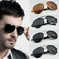 Pilot Style Sunglasses Polarized Design for Men Formal Attire Driving Shade Lens