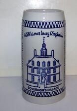 CERMARTE / WILLIAMSBURG VIRGINIA GOVERNOR'S PALACE STEIN RARE & HTF