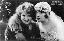 USA SILENT MOVIE ACTRESS PAULINE GARON, BEBE' DANIELS, ED. BALLERINI FRATINI   m