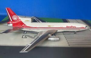 AeroPeru Lockheed L-1011-385-1 N10114 1980s 1/200 scale diecast Inflight