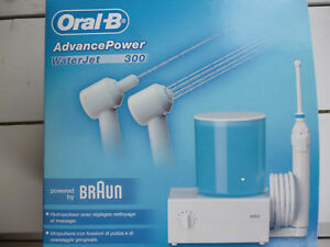 HYDROPULSEUR ADVANCE POWER ORAL B BRAUN
