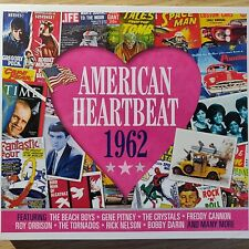 2CD NEW SEALED - AMERICAN HEARTBEAT 1962 - Pop 60's Music 2x CD Album