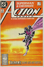 ACTION COMICS#598 FN/VF 1988 FIRST CHECKMATE DC COMICS