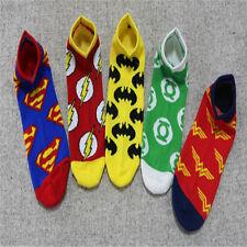Fashion Superman Batman Green Lantern Wonder Woman Short Lovely Anime Socks Gift