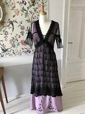 1912 Stil Kleid Repro Titanic Jugendstil Downton Abbey 1900 Größe L