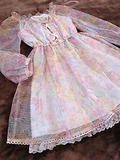 LIZ LISA Dress Japan-M See-through Lace-up Romantic Hime&Lolita 109 Cute Fashion