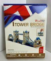 TOWER BRIDGE London 3D Puzzle: 120 Pieces - World's Great Architecture Series