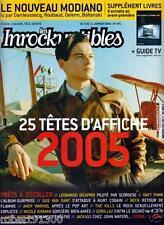 LES INROCKUPTIBLES  475./...DIONYSOS.....MAROC' N' ROLL.../..01 -2005