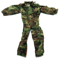 """1/6 21st Century WWII Camouflage Combat Uniform For 12"""" The Ultimate Soldier"""