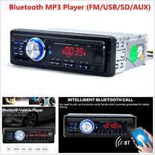 1131B 12V Bluetooth 1-Din Car Audio Stereo Mp3 Player Fm Usb Aux Remote Control