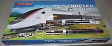 Coffret Train TGV Duplex SNCF Jouef Hornby HO 1:87  * Neuf, jamais ouvert *