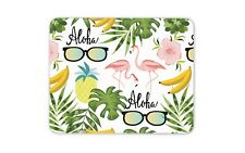 Aloha Hawaii Tapis de Souris Pad-Flamingo Summer Ananas cadeau ordinateur PC #8489