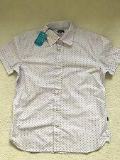PAUL SMITH LILA punto camisa manga corta - L - P2P 53.3cm