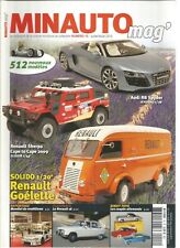 MINAUTO MAG' N°15 RENAULT SHERPA / RENAULT GOELETTE / RENAULT 16 /COUPE ALLEMAND