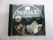 Brunswick Billiards Pro Pool 3D  (PC, 1997)