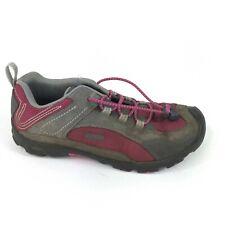 Keen Joey Girls Sangria / Gargoyle Hiking Shoes Size US 6 / UK 5 / EU 38