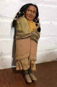 Antique Native American Skookum Doll