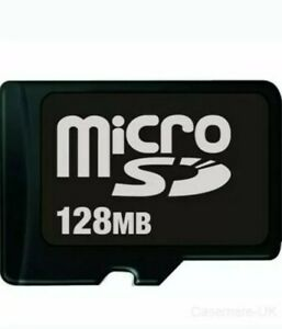 128MB Micro SD Memory Card for Feature Phones Cameras & Other devices UK SELL