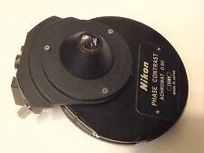 Nikon Phase Contrast Achromat 090 Condenser For Fluophot Or Biophot