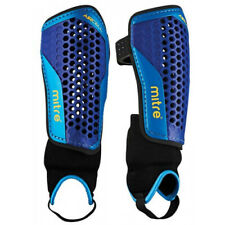 Mens Mitre Aircell Blue Carbon Shinpad and Ankle Guard (CSA1)