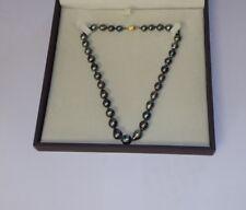Collier perles de tahiti or 18 carat 18 K 750