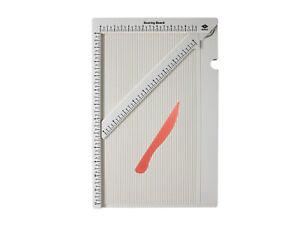 Bira Craft 12 x 6 3/4 inch Multi-Purpose Scoring Board & Score and Fold Tool