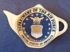 United States Air Force New Handmade Ceramic-Porcelain Tea Bag Spoon Rest Gift