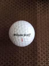 GOLF BALLS-(78) WILSON STAFF DUO....MINT/NEAR MINTS..NO LOGOS..NO REFURBISHED
