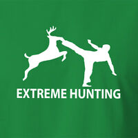 New Extreme Hunting T-shirt camping survival knife clothing fishing gear hunt