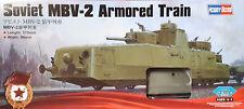HOBBYBOSS® 85514 Soviet MBV-2 Armored Train (Late F-34 GUN) in 1:35