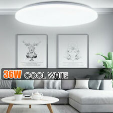 36w Led Surface Mount Fixture Ceiling Light Room Kitchen Round Panel Lights