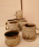 Beautiful Hand Made Studio Pottery Tea Set