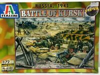 Italeri 1:72 Battle of Kursk Russia 1943 WWII Plastic Diorama Scale Model Kit