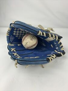 "Mizuno Baseball Glove 10.75"" Power Close GPP 1075Y1RY  Lft Hand Throw Blue Lefty"