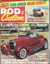 Rod & Custom Magazine June 1969 '29 Ford Museum VG No ML 031317nonjhe