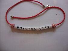 bristol city football necklace/bracelet