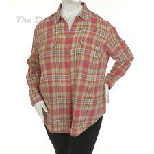 d02f758739a Chaps by Ralph Lauren Women s Size 2x Multi-color Plaid Top Button Front  Shirt