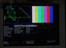 Tektronix wvr6100 SDI rasterizer test unit with audio and SDI