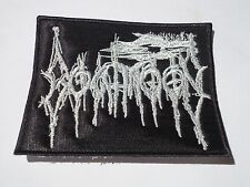 GOATMOON BLACK METAL EMBROIDERED PATCH