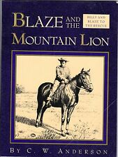 1993 Blaze & the Mountian Lion by C.W. Anderson